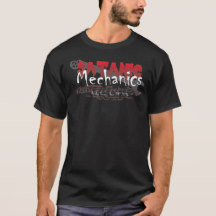 Satanic Mechanics shirt, men's